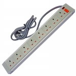 803GBA - 8 Way ABS - Wired Lead - UK Plug